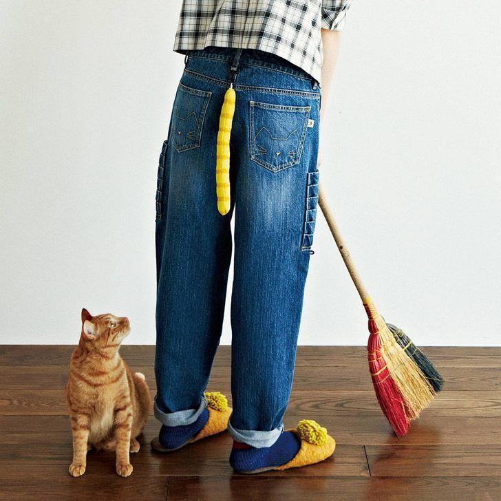 Džinsi ar kaķa asti aizmugurē... Autors: The Diāna 20 izgudrojumi, kuri iespējami tikai Japānā