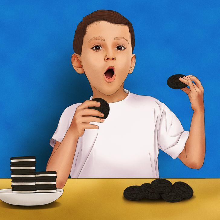 Kāpēc ēst visu cepumiņu ja... Autors: The Diāna 18 smieklīgas un mazliet apkaunojošas lietas, kuras darījām bērnībā