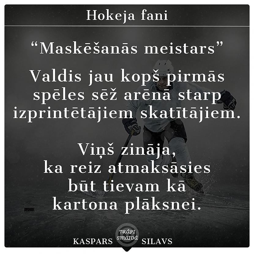 Autors: Kaspars Silavs JOKI - Hokeju fani