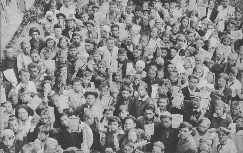 Tāpat kā tik pat laimīgi... Autors: Lestets PSRS 1930-to gadu dzīve