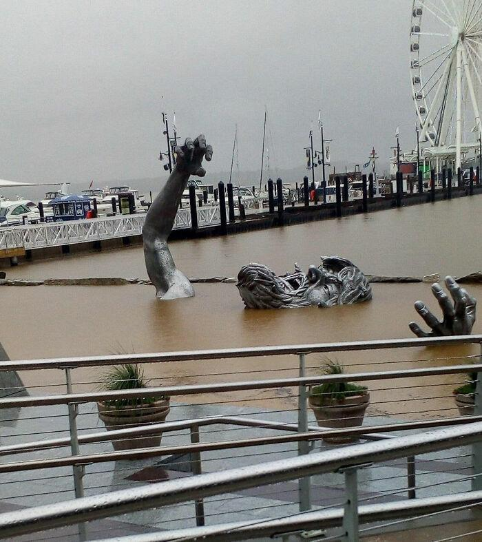 Merilendas Nacionālās ostas... Autors: Lestets Cilvēka veidoti zemūdens objekti, kas liks bailēs peldēt prom