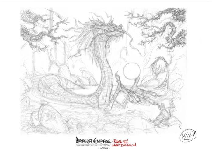 Internetā ātri vien cilvēki... Autors: Hellsing Raya and the Last Dragon - Avatar 2.0?