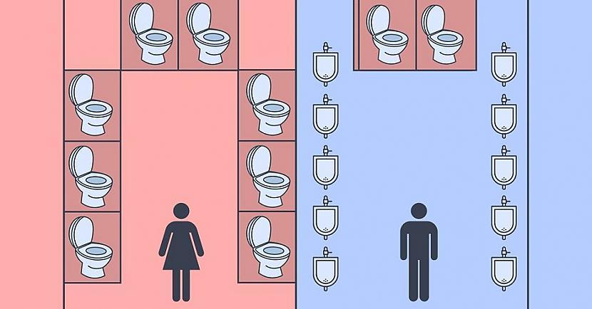 Autors: Lestets Kāpēc sievietēm ir ilgāk jāgaida rindā uz tualeti?
