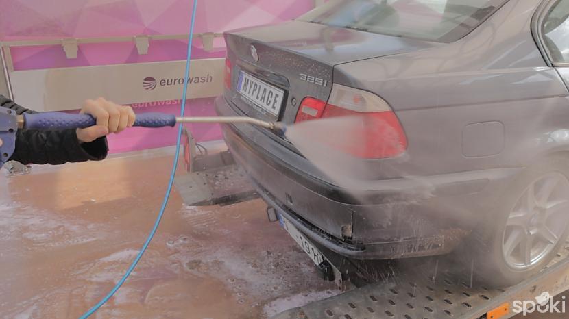 Bet nu iegāzējot dzinējs sāka... Autors: MyPlace Tā nebija prātīga doma / BMW e46 aizdegās / AUTOVLOGS #11