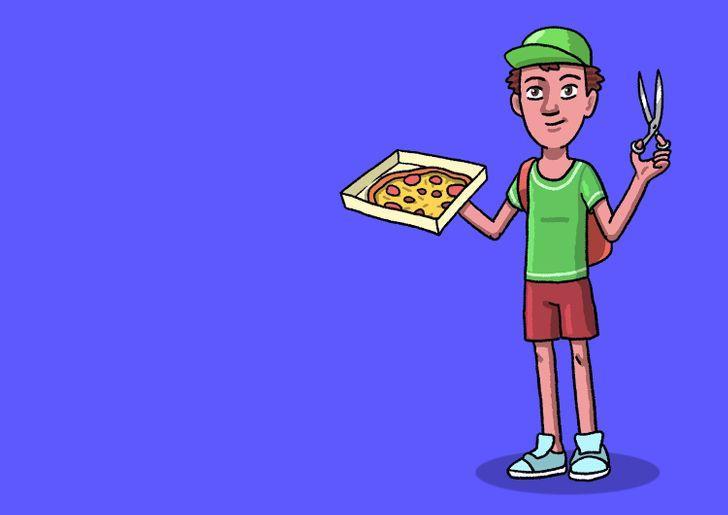 Kā picas piegādātāja darbā var... Autors: The Diāna 7 «smadzeņmežģi», uz kuriem ne visi var atbildēt pareizi