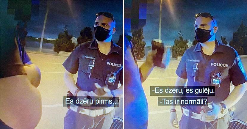 RPP ekipāža nekavējoties devās... Autors: matilde Policija aizturējusi dzērājšoferi, kurš nezināja, ka nedrīkst braukt reibumā