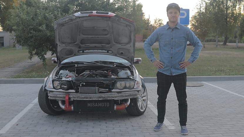 Autors: MyPlace Kas notika ar 500hp turbo BMW e46 ?! VIDEO Autovlogs #12