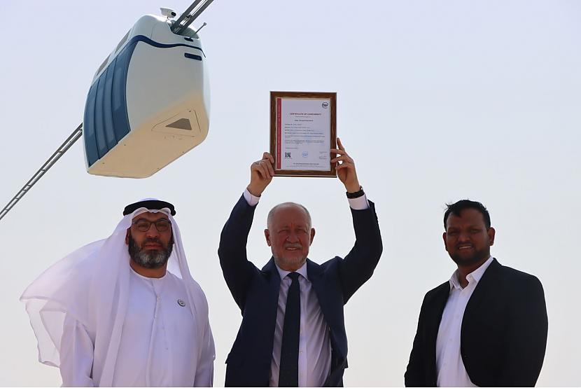 Autors: The Next Tech uSky (SkyWay) sertifikācija AAE