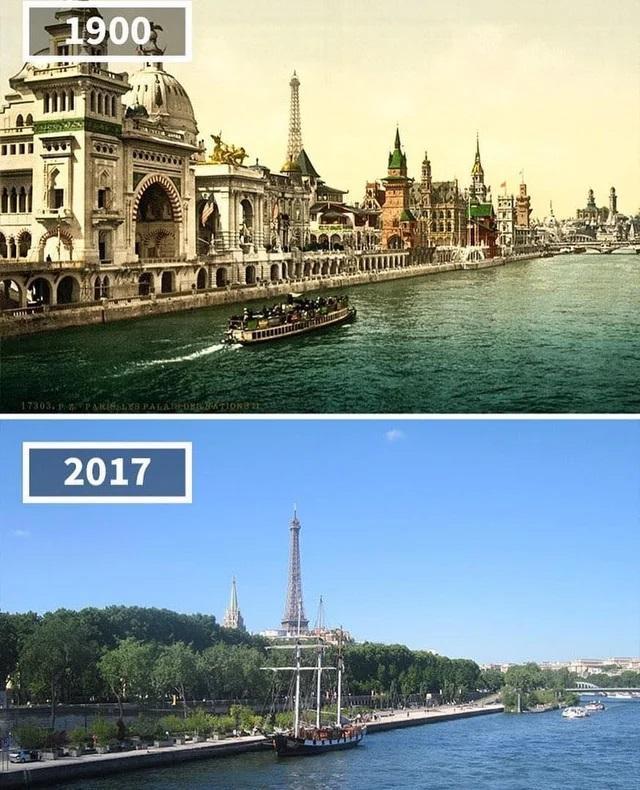 Parīze Francija Scaroneit gan... Autors: Lestets Toreiz un tagad: Kā laika gaitā ir mainījušās šīs vietas?