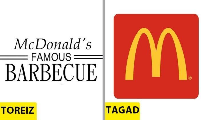 McDonaldrsquosLieliski... Autors: Lestets Kā pēdējo 50 gadu laikā ir mainījušies slavenu brendu logo?
